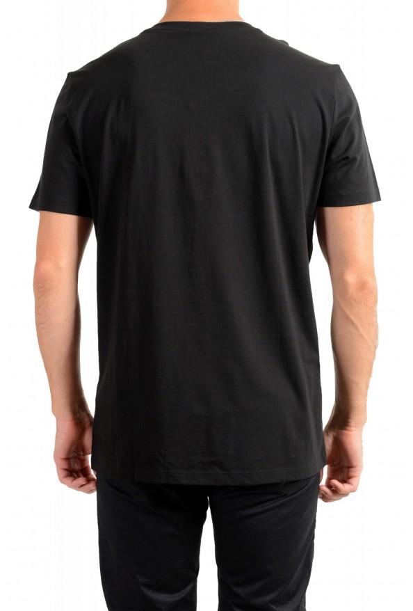 "Hugo Boss Men's ""Tessler 127"" Black Graphic Print Slim Fit T-Shirt: Picture 3"