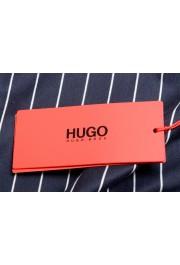 "Hugo Boss Men's ""Drieste"" Blue Striped Crewneck T-Shirt: Picture 6"