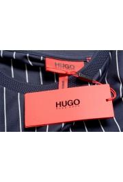 "Hugo Boss Men's ""Drieste"" Blue Striped Crewneck T-Shirt: Picture 7"
