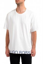 "Hugo Boss Men's ""Identity T-shirt RN"" White Crewneck T-Shirt"