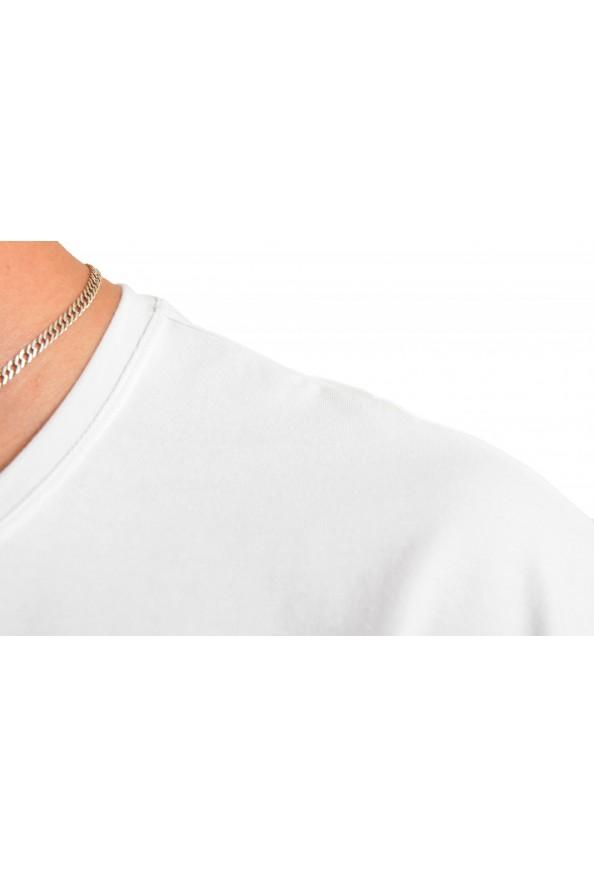 "Hugo Boss Men's ""Identity T-shirt RN"" White Crewneck T-Shirt : Picture 4"