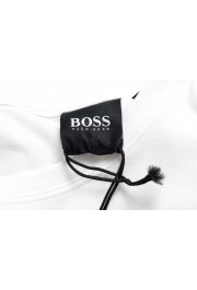 "Hugo Boss Men's ""Identity T-shirt RN"" White Crewneck T-Shirt : Picture 5"