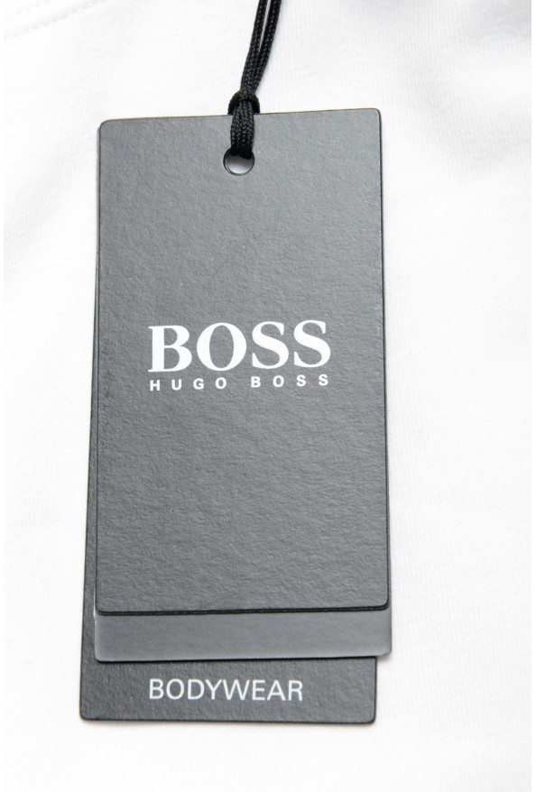 "Hugo Boss Men's ""Identity T-shirt RN"" White Crewneck T-Shirt : Picture 6"