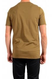 "Hugo Boss Men's ""Dicagolino_LP1"" Olive Logo Print Crewneck T-Shirt: Picture 3"