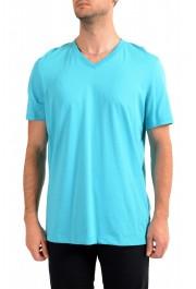 """Hugo Boss Men's """"Tilson 55"""" Regular Fit Blue V-Neck T-Shirt"""