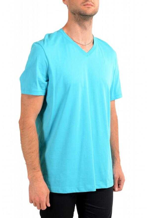 """Hugo Boss Men's """"Tilson 55"""" Regular Fit Blue V-Neck T-Shirt: Picture 2"""