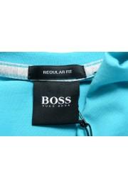 """Hugo Boss Men's """"Tilson 55"""" Regular Fit Blue V-Neck T-Shirt: Picture 5"""