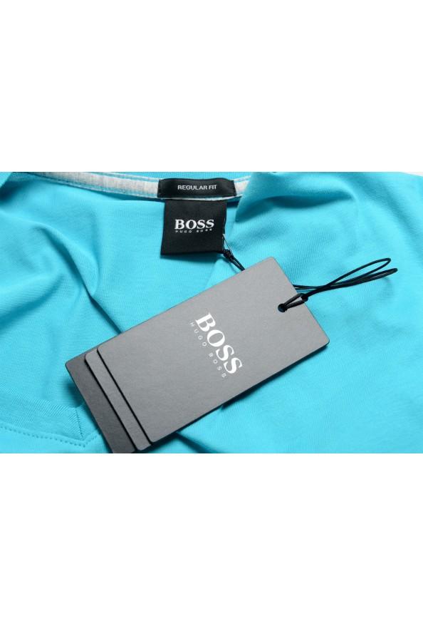 """Hugo Boss Men's """"Tilson 55"""" Regular Fit Blue V-Neck T-Shirt: Picture 7"""