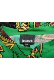 Just Cavalli Women's Multi-Color Lace Trimmed Blouse Top : Picture 5