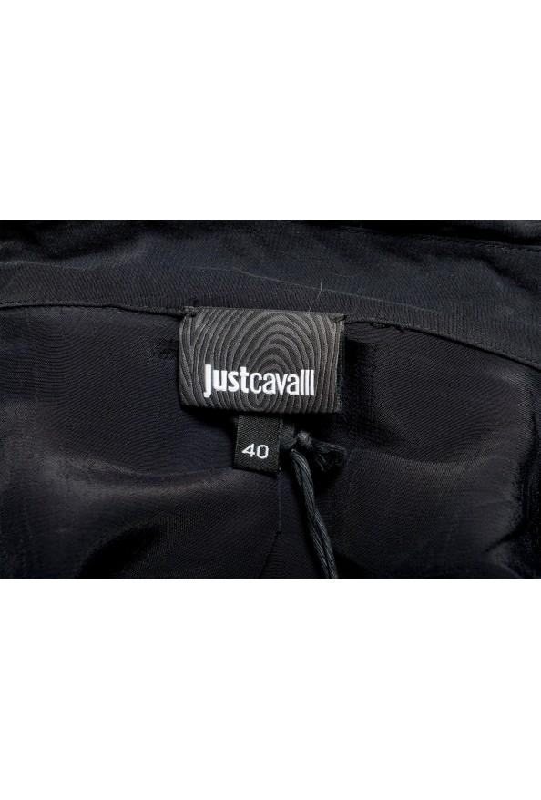 Just Cavalli Women's Multi-Color Button Down Shirt Blouse Top: Picture 5