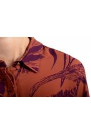 Just Cavalli Women's Multi-Color Button Down Shirt Blouse Top : Picture 4