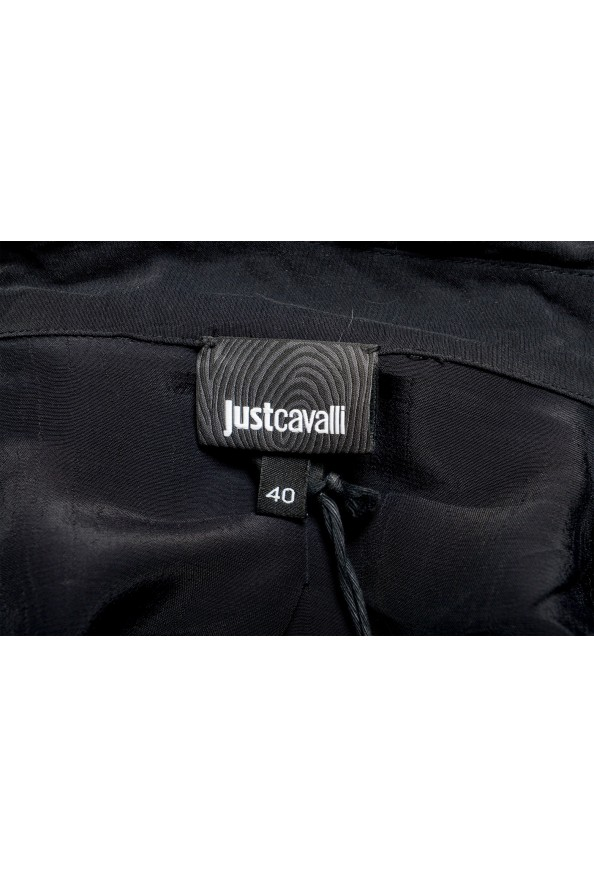 Just Cavalli Women's Multi-Color Button Down Shirt Blouse Top : Picture 5