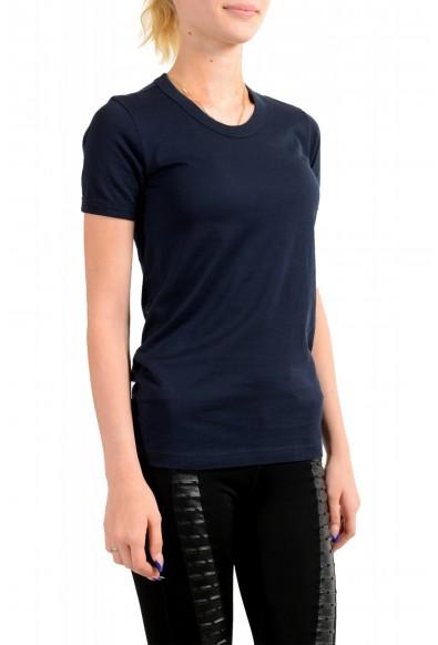 Dolce & Gabbana D&G Women's Basic Blue Crewneck T-Shirt : Picture 2