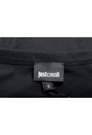 Just Cavalli Women's Black Logo Print Short Sleeve Crewneck T-Shirt: Picture 5