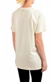 Just Cavalli Women's Beige Short Sleeve Crewneck T-Shirt : Picture 3