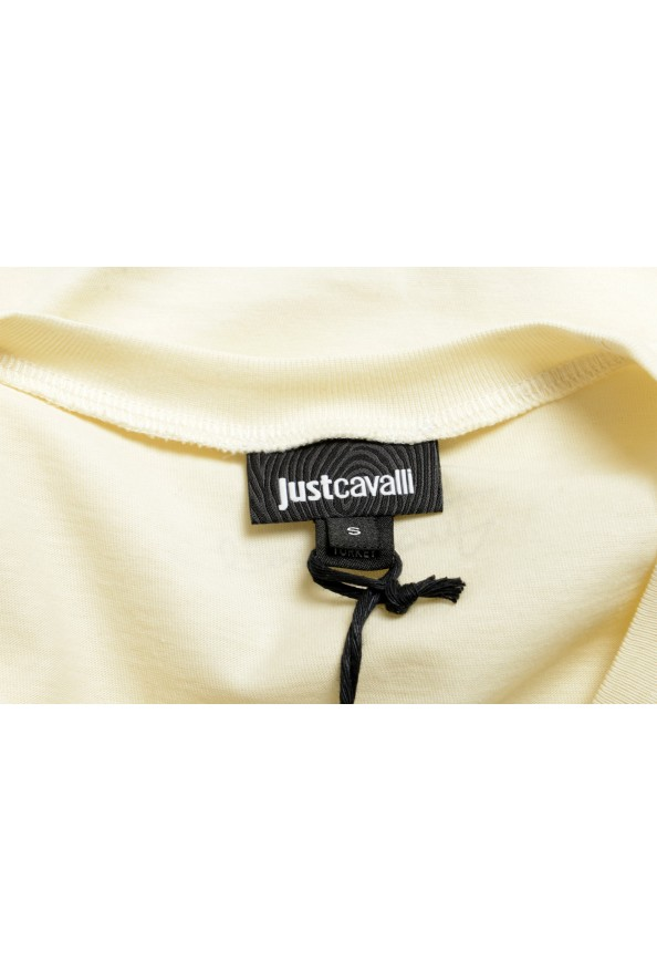 Just Cavalli Women's Beige Short Sleeve Crewneck T-Shirt : Picture 5
