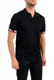 "Hugo Boss Men's ""Parlay 106"" Black Short Sleeve Polo Shirt: Picture 2"