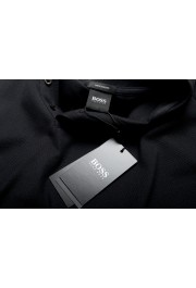 "Hugo Boss Men's ""Parlay 106"" Black Short Sleeve Polo Shirt: Picture 7"
