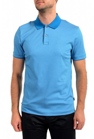 """Hugo Boss Men's """"Phillipson 82"""" Slim Fit Striped Polo Shirt"""