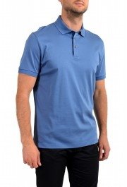 """Hugo Boss Men's """"T-Perry 14"""" Blue Short Sleeve Polo Shirt: Picture 2"""