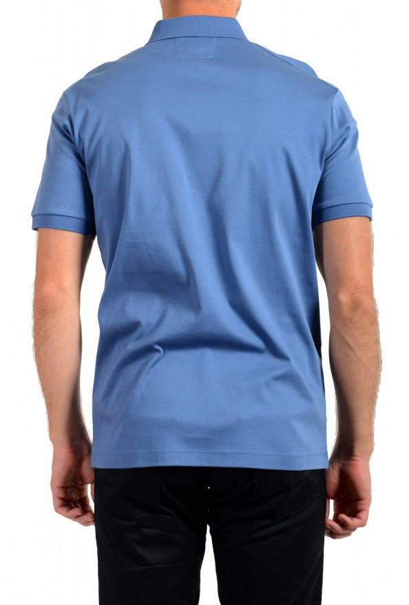 """Hugo Boss Men's """"T-Perry 14"""" Blue Short Sleeve Polo Shirt: Picture 3"""
