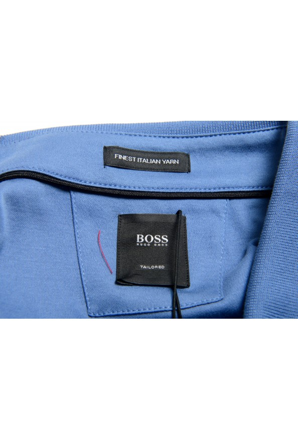 """Hugo Boss Men's """"T-Perry 14"""" Blue Short Sleeve Polo Shirt: Picture 5"""