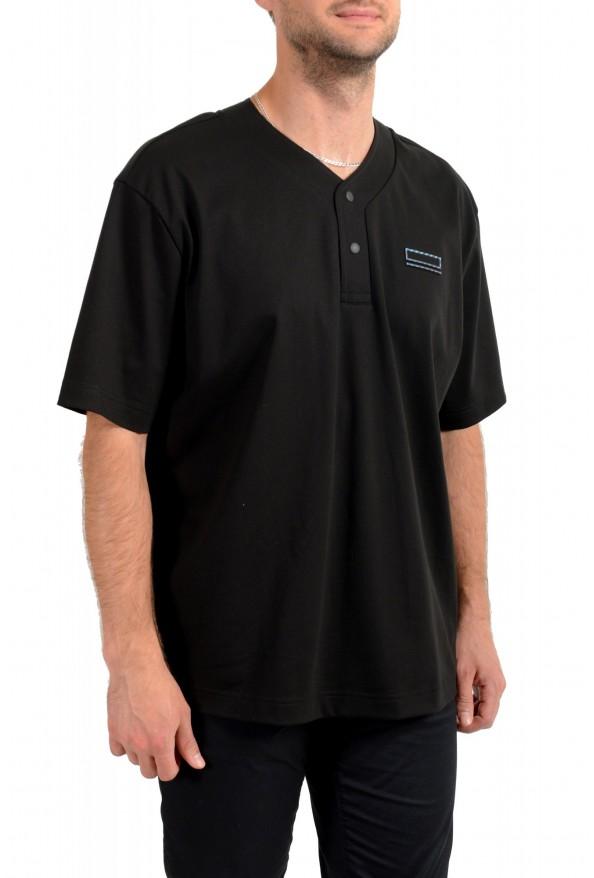 "Hugo Boss Men's ""Pasea"" Oversized Fit Black Short Sleeve T-Shirt: Picture 2"