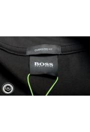 "Hugo Boss Men's ""Pasea"" Oversized Fit Black Short Sleeve T-Shirt: Picture 5"
