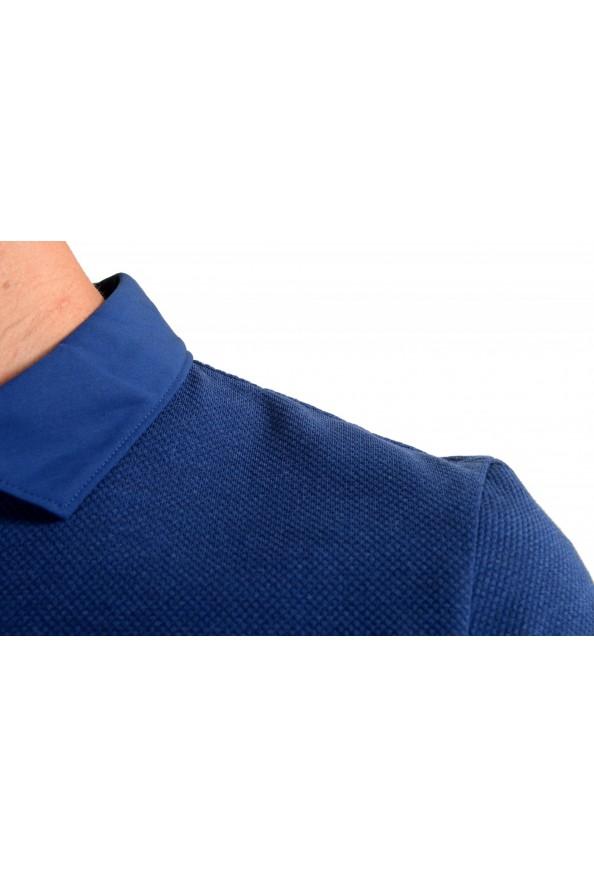 """Hugo Boss Men's """"Plummer 06"""" Slim Fit Blue Short Sleeve Polo Shirt : Picture 4"""