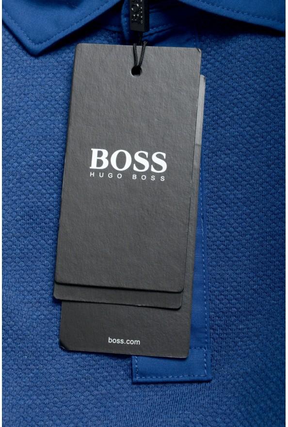 """Hugo Boss Men's """"Plummer 06"""" Slim Fit Blue Short Sleeve Polo Shirt : Picture 6"""