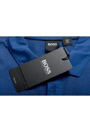 """Hugo Boss Men's """"Plummer 06"""" Slim Fit Blue Short Sleeve Polo Shirt : Picture 7"""