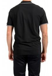 """Hugo Boss Men's """"PChup 1"""" Black Short Sleeve Polo Shirt: Picture 3"""