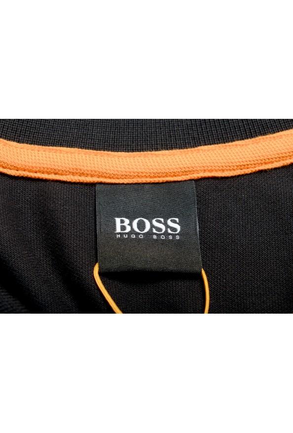 """Hugo Boss Men's """"PChup 1"""" Black Short Sleeve Polo Shirt: Picture 5"""
