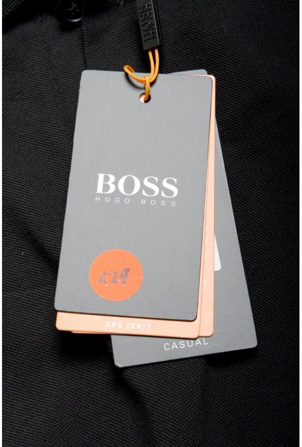 """Hugo Boss Men's """"PChup 1"""" Black Short Sleeve Polo Shirt: Picture 6"""