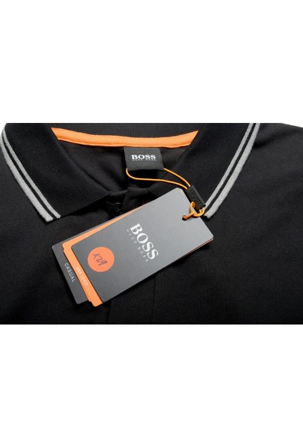 """Hugo Boss Men's """"PChup 1"""" Black Short Sleeve Polo Shirt: Picture 7"""