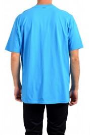 "Hugo Boss Men's ""Trek 4"" Blue Graphic Print Crewneck T-Shirt : Picture 3"