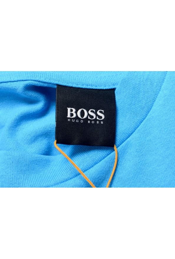 "Hugo Boss Men's ""Trek 4"" Blue Graphic Print Crewneck T-Shirt : Picture 5"