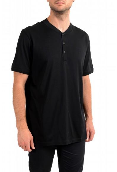 """Hugo Boss Men's """"Denots202"""" Regular Fit Black Crewneck T-Shirt: Picture 2"""