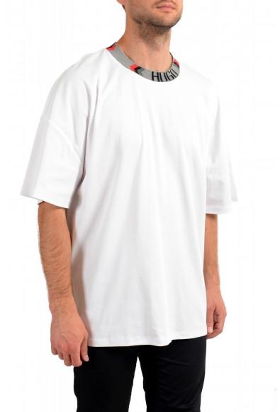 "Hugo Boss Men's ""Dougy_LP1"" White Oversized Crewneck T-Shirt: Picture 2"
