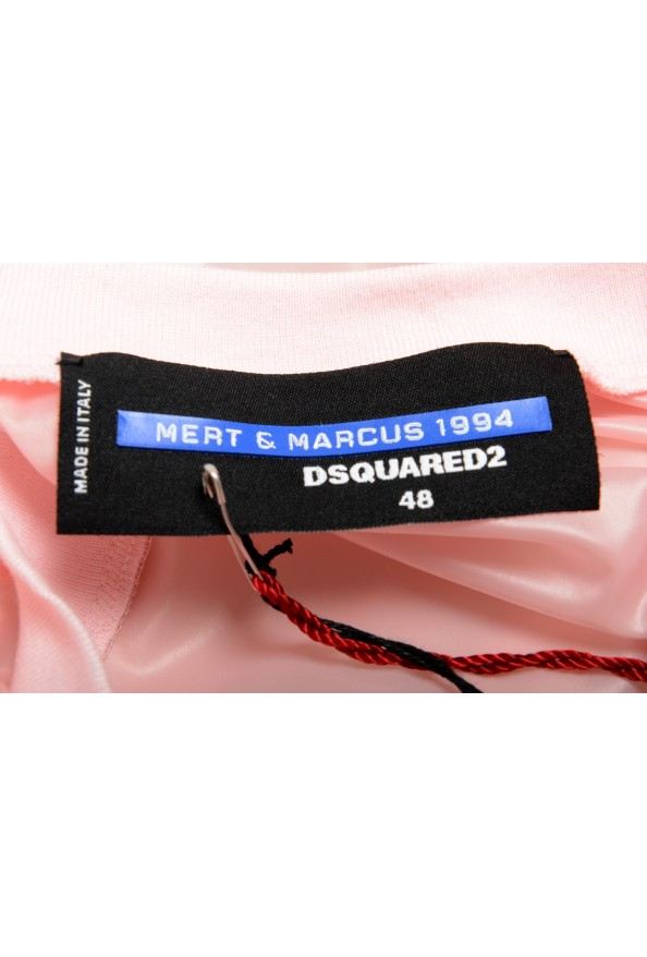 """Dsquared2 & """"Mert & Marcus 1994"""" Men's See Through Top: Picture 6"""