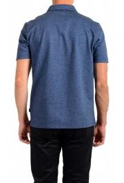 """Hugo Boss Men's """"Powell 08_B"""" Blue Short Sleeve Button Down Shirt : Picture 3"""
