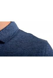 """Hugo Boss Men's """"Powell 08_B"""" Blue Short Sleeve Button Down Shirt : Picture 4"""