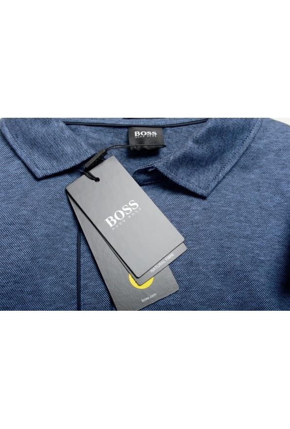 """Hugo Boss Men's """"Powell 08_B"""" Blue Short Sleeve Button Down Shirt : Picture 7"""