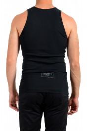 Dolce & Gabbana Men's Black Ribbed Tank Top: Picture 3