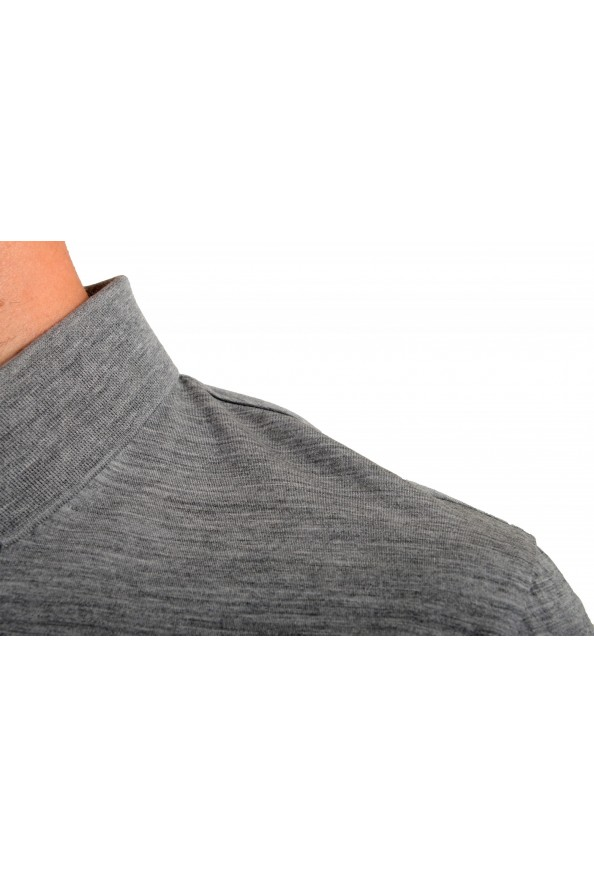 "Hugo Boss Men's ""Press 47"" Gray 100% Wool Short Sleeve Polo Shirt: Picture 4"