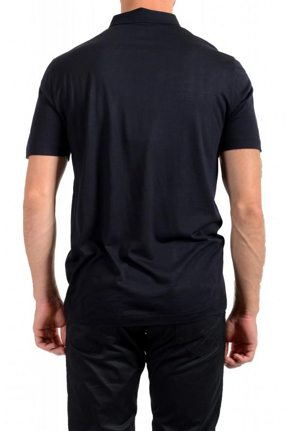 "Hugo Boss Men's ""Press 47"" Black 100% Wool Short Sleeve Polo Shirt : Picture 3"