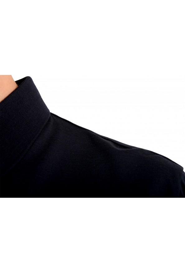 "Hugo Boss Men's ""Press 47"" Black 100% Wool Short Sleeve Polo Shirt : Picture 4"