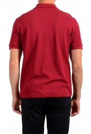 """Hugo Boss Men's """"Parlay 99"""" Cherry Red Short Sleeve Polo Shirt : Picture 3"""
