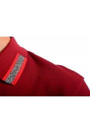 """Hugo Boss Men's """"Parlay 99"""" Cherry Red Short Sleeve Polo Shirt : Picture 5"""