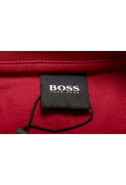 """Hugo Boss Men's """"Parlay 99"""" Cherry Red Short Sleeve Polo Shirt : Picture 6"""